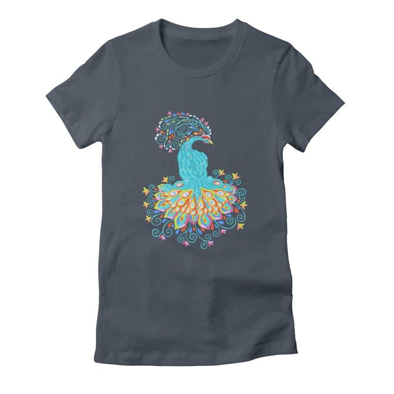 Peacecock Women's T-Shirt by BullShirtCo