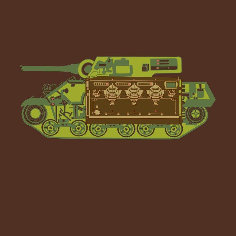 Italian Coffee Tank Men's T-Shirt by BullShirtCo