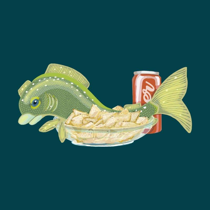 Fish & Chips Men's T-Shirt by BullShirtCo