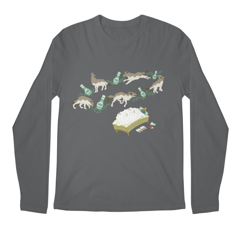 Sheep's Nightmare Men's Longsleeve T-Shirt by BullShirtCo