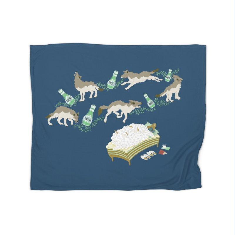 Sheep's Nightmare Home Blanket by BullShirtCo