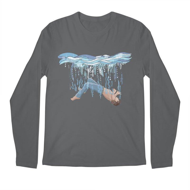 Waterfall Men's Longsleeve T-Shirt by BullShirtCo