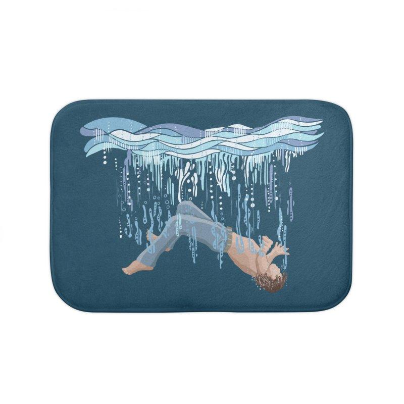 Waterfall Home Bath Mat by BullShirtCo