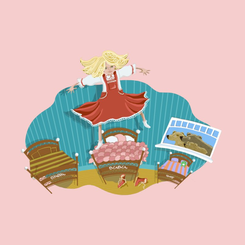 Goldilocks' Dream Home Rug by BullShirtCo