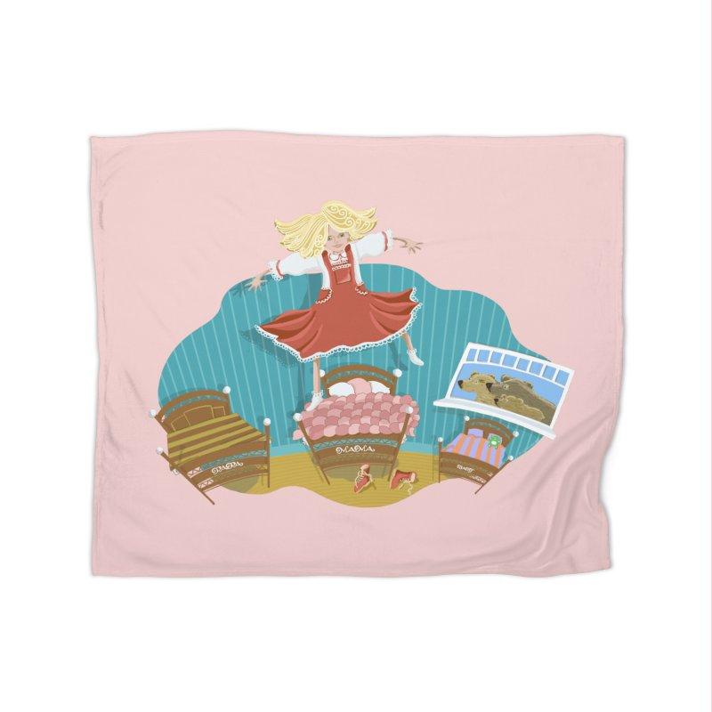 Goldilocks' Dream Home Blanket by BullShirtCo