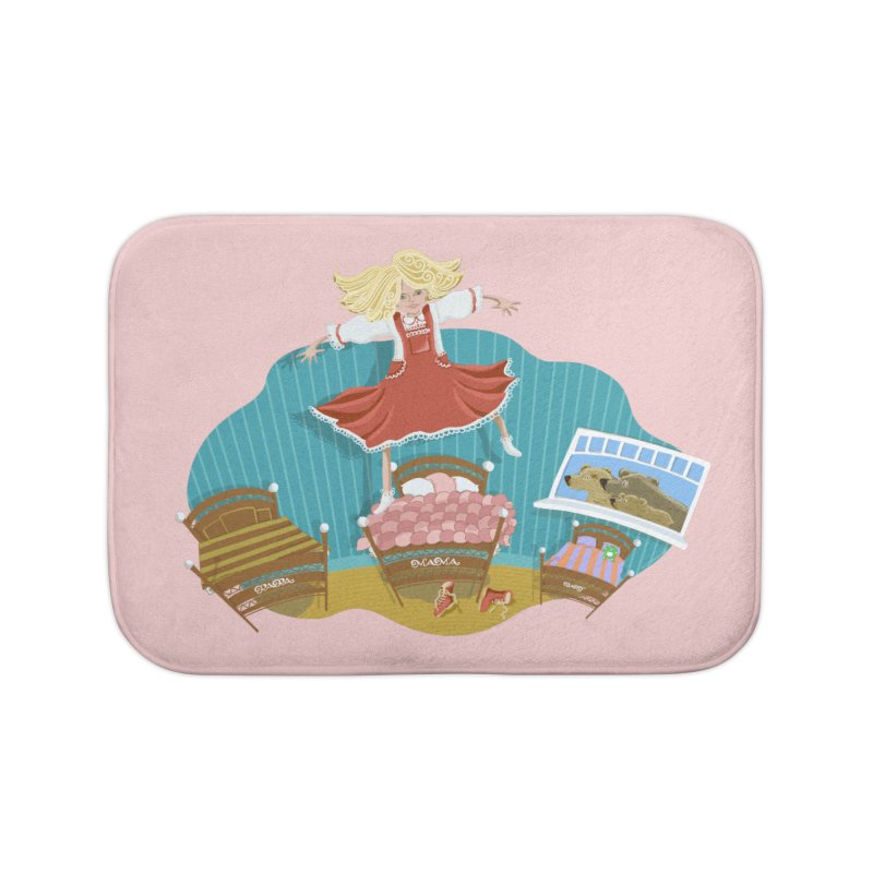 Goldilocks' Dream Home Bath Mat by BullShirtCo