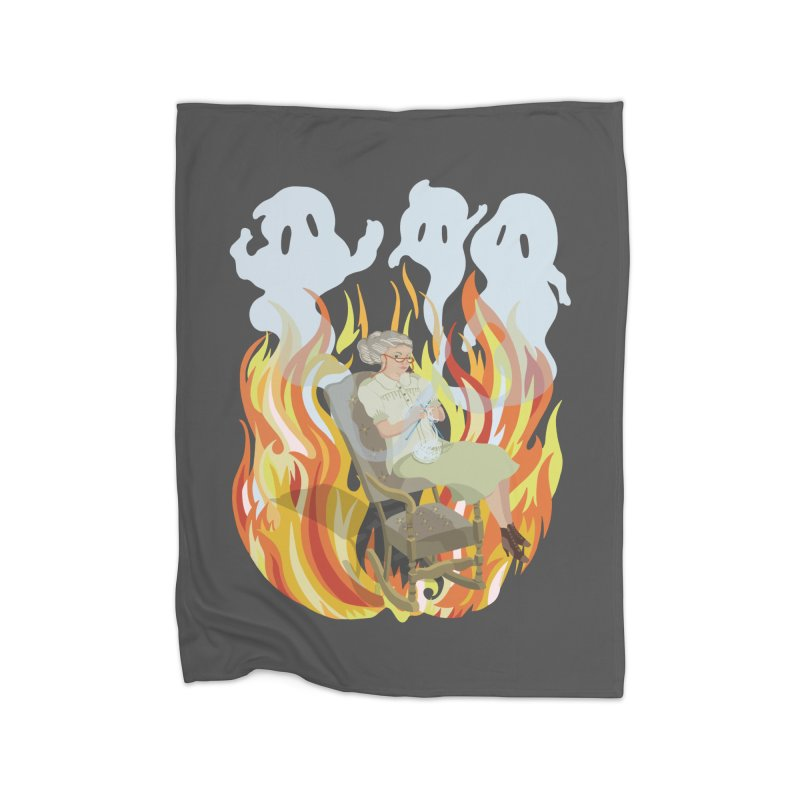Where Do Ghosts Come From? Home Blanket by BullShirtCo