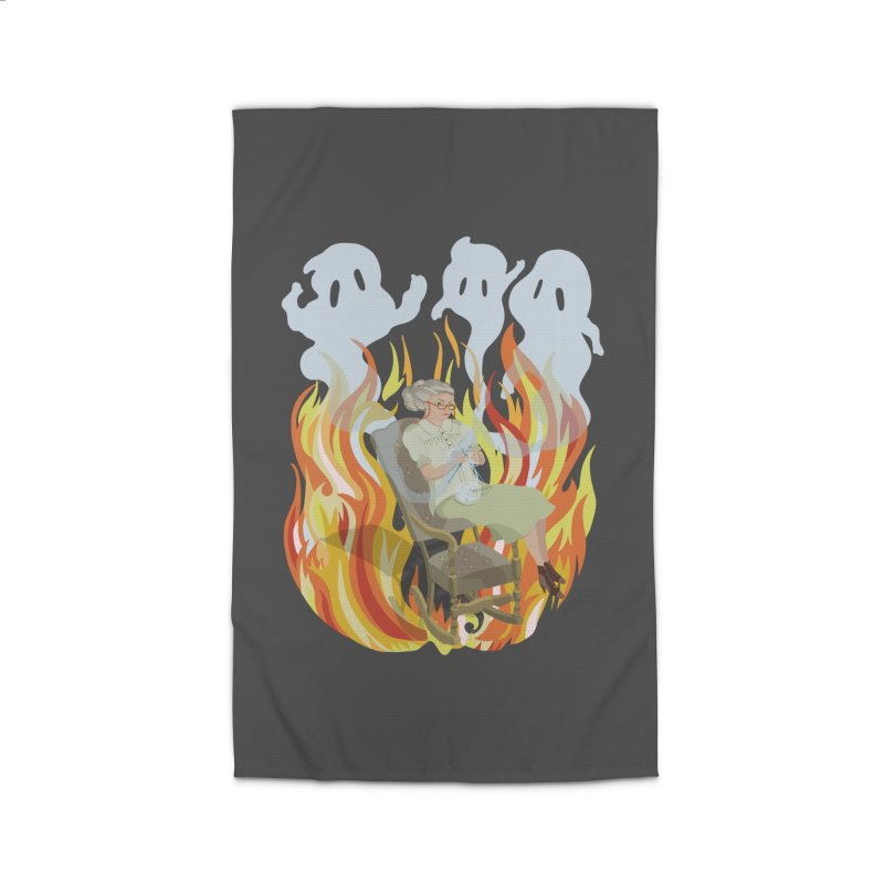 Where Do Ghosts Come From? Home Rug by BullShirtCo