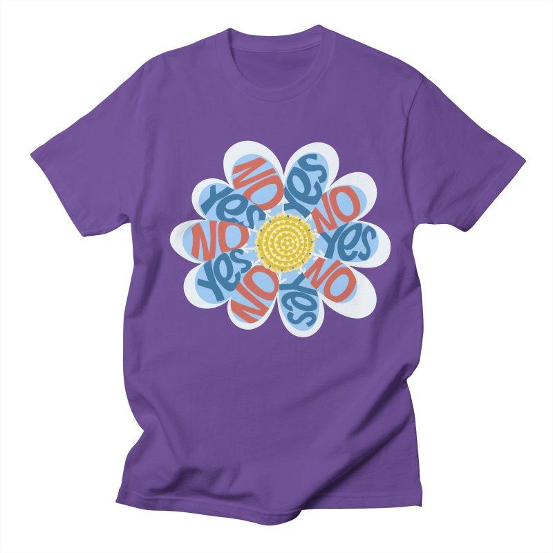 Vote Yes No Yes No Daisy Men's T-Shirt by BullShirtCo