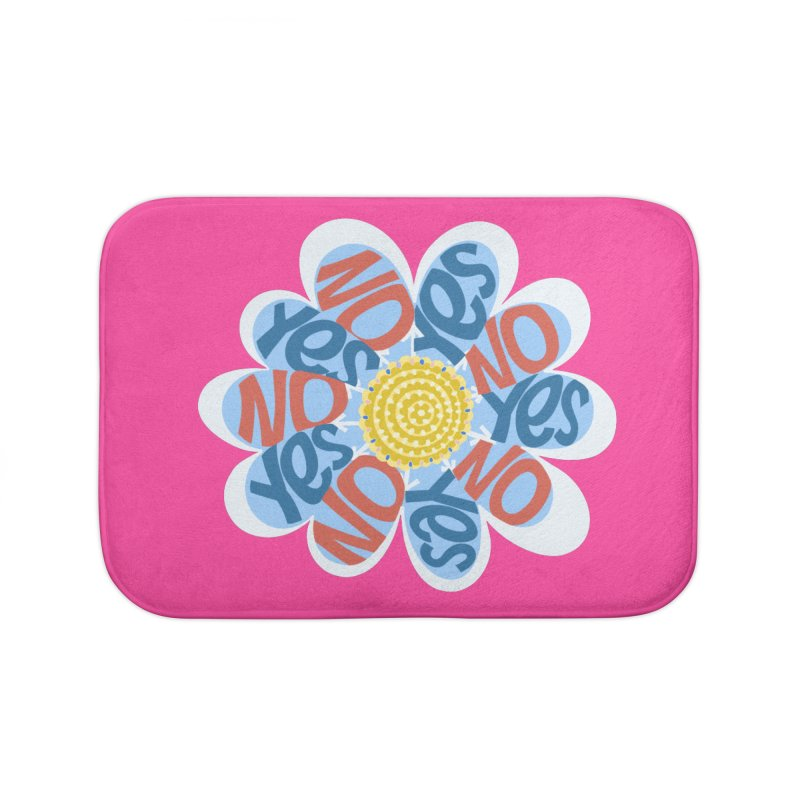 Vote Yes No Yes No Daisy Home Bath Mat by BullShirtCo