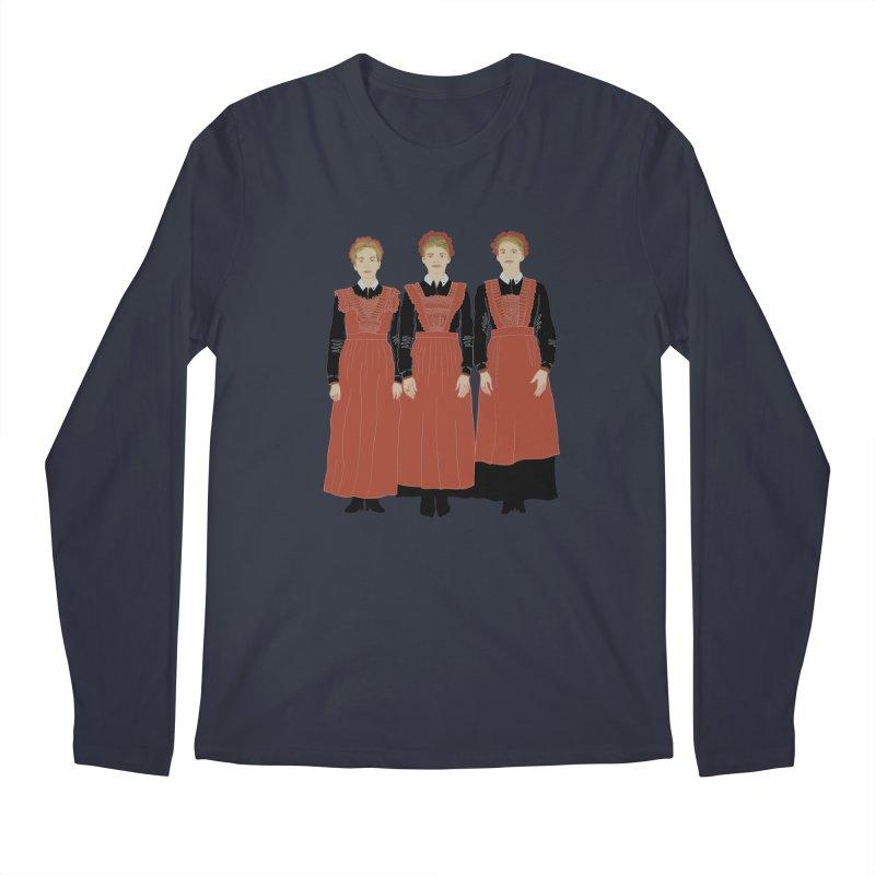 Blood Sisters Men's Longsleeve T-Shirt by BullShirtCo