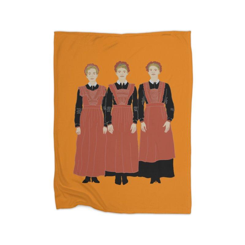Blood Sisters Home Blanket by BullShirtCo