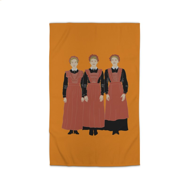 Blood Sisters Home Rug by BullShirtCo