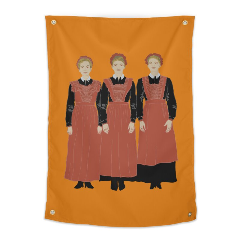 Blood Sisters Home Tapestry by BullShirtCo