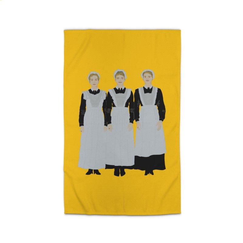 Angry Maids Home Rug by BullShirtCo