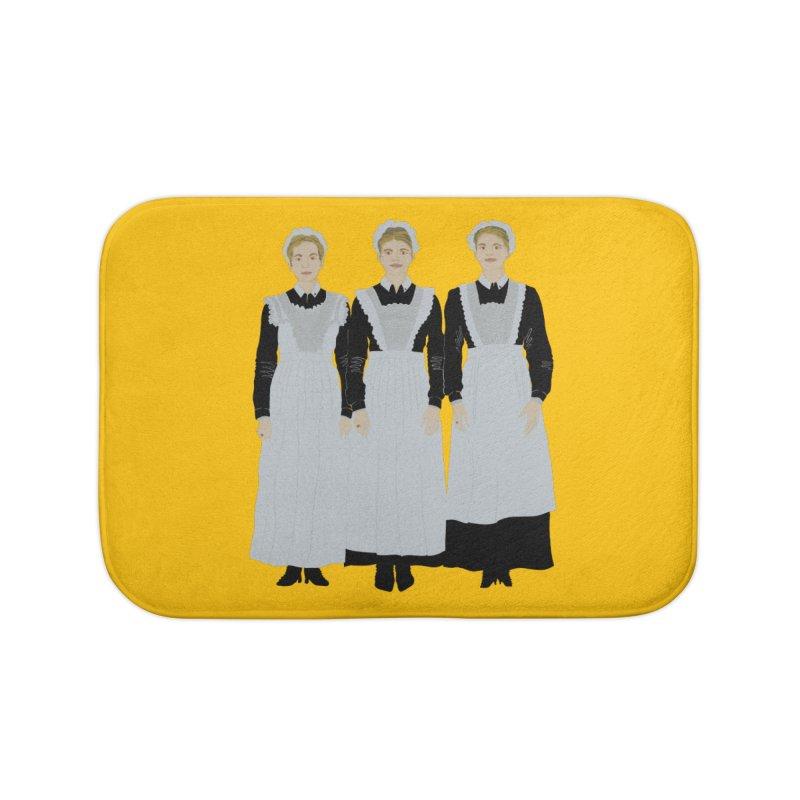 Angry Maids Home Bath Mat by BullShirtCo