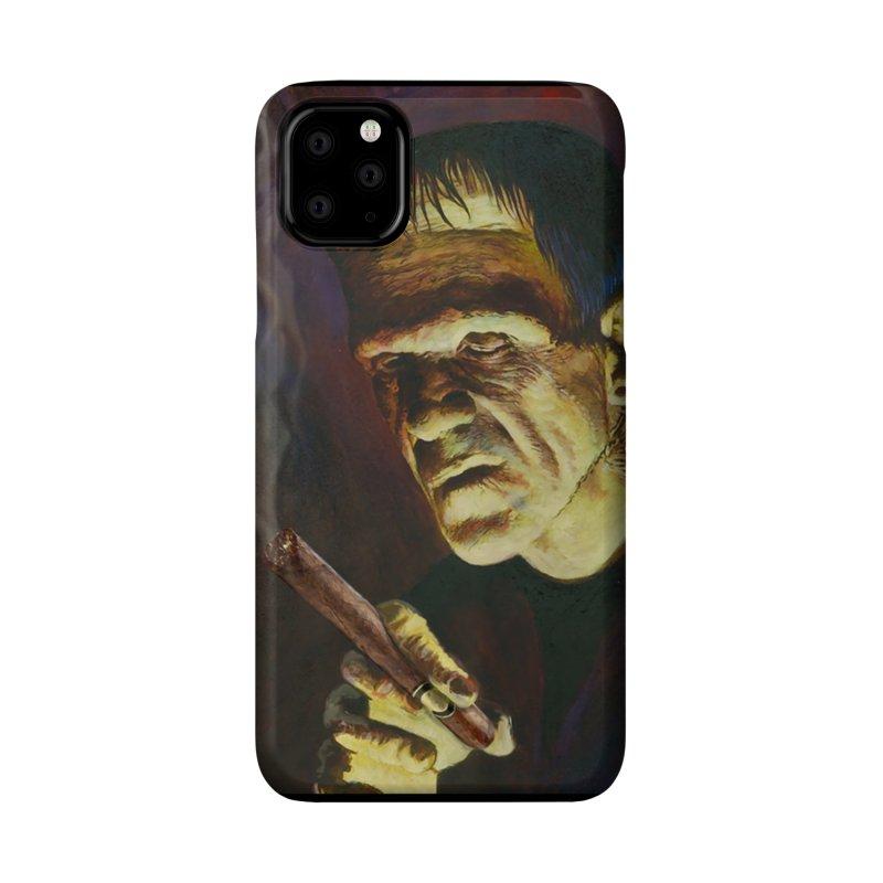 Holy Smokes! Frankenstein Smokes Accessories Phone Case by BullShirtCo