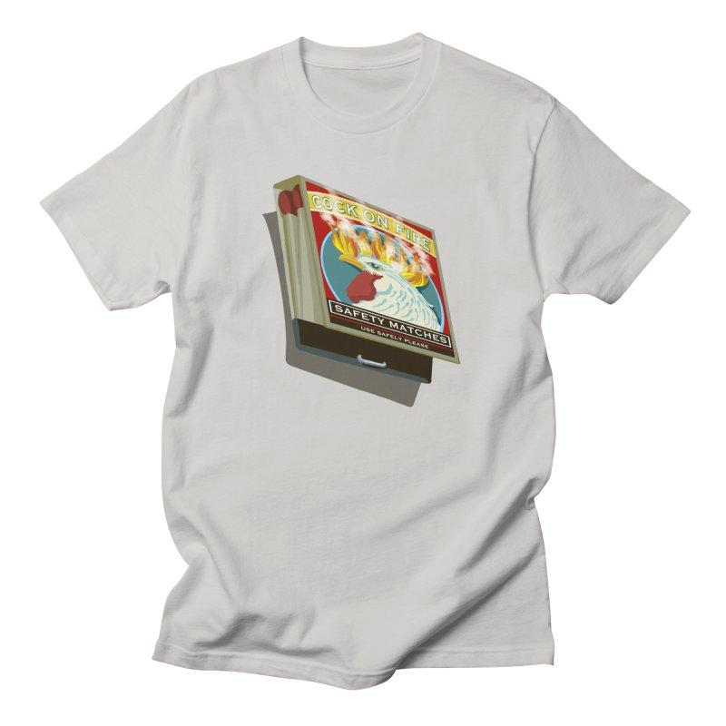 Dangerous Safety Matches - larger matchbook Men's T-Shirt by BullShirtCo
