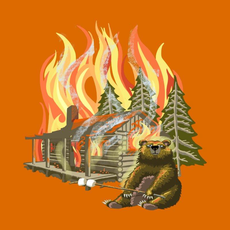 Camping Cookout Men's T-Shirt by BullShirtCo