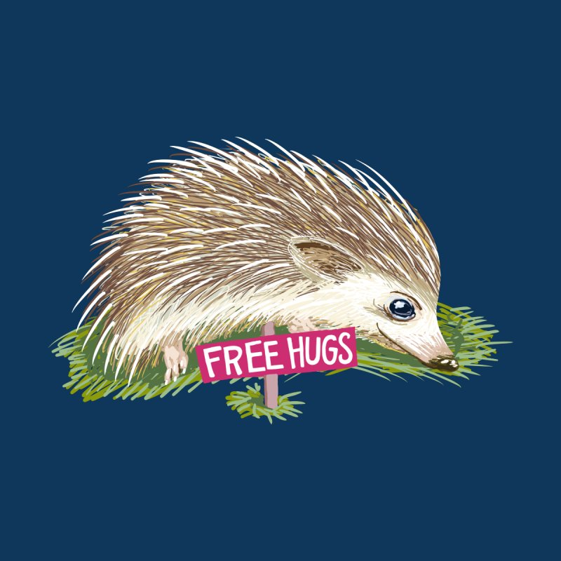 Free Hugs Men's T-Shirt by BullShirtCo