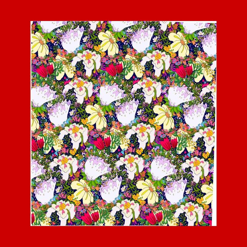 Flower Power Men's Socks by BullShirtCo