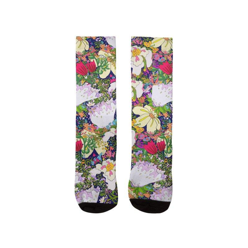 Flower Power Women's Socks by BullShirtCo