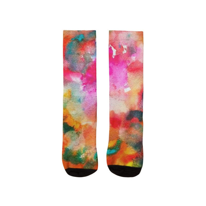 Groovy Watercolor Stuff Men's Socks by BullShirtCo