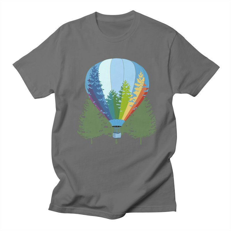 Rise Up! Green Trees. Men's T-Shirt by BullShirtCo