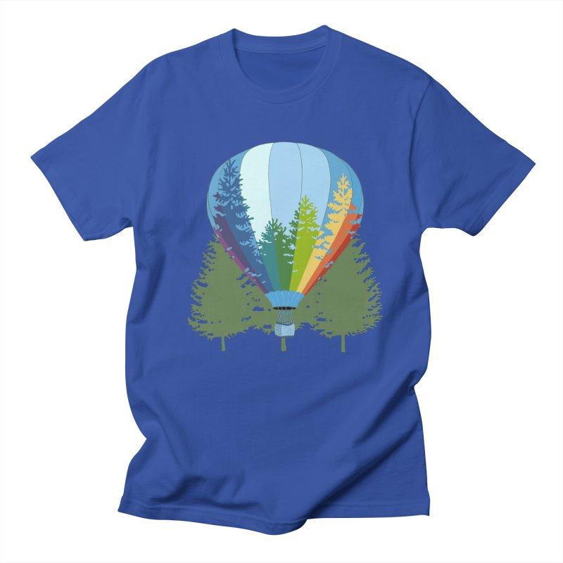 Rise Up! Green Trees. Men's T-Shirt by BullShirtCo
