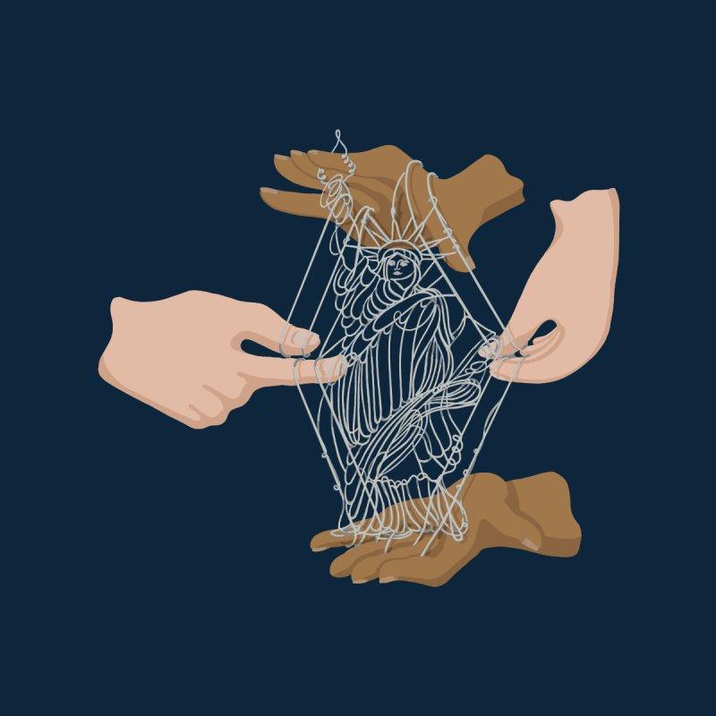 String Figure USA! Men's T-Shirt by BullShirtCo
