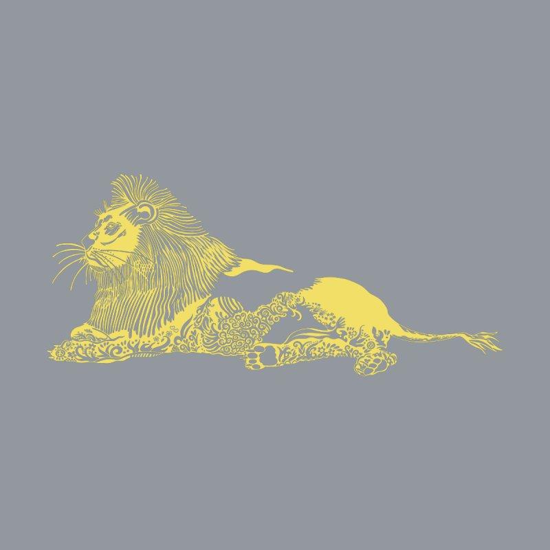 Li(o)ne Art Men's T-Shirt by BullShirtCo