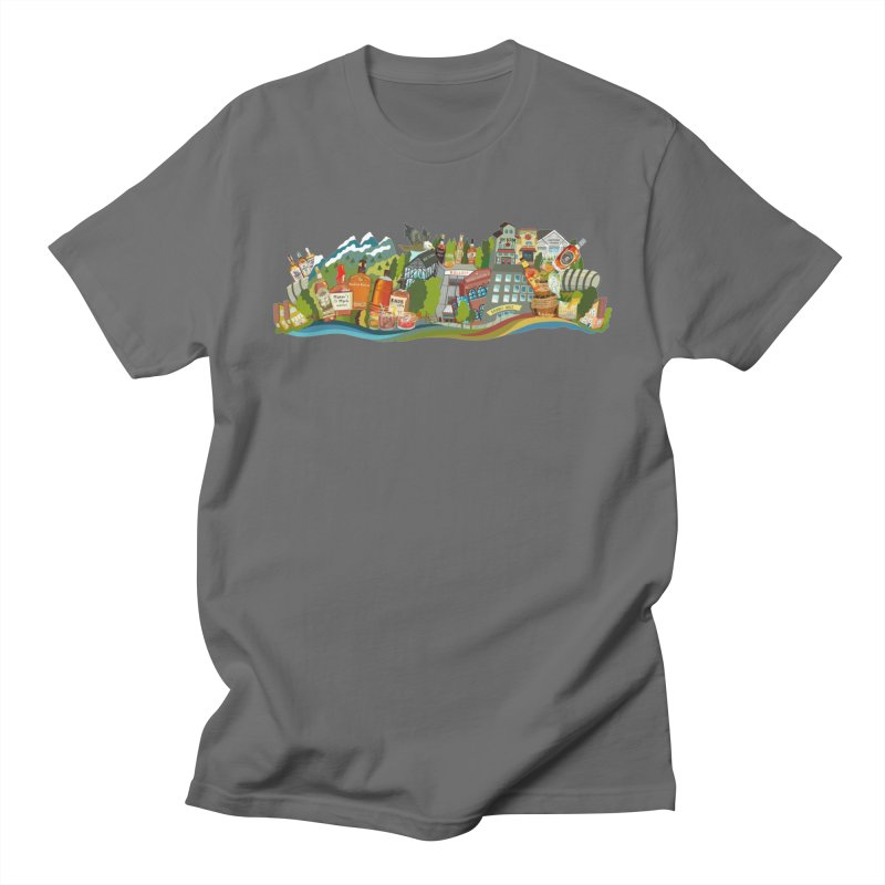 Kentucky Bourbon Celebration Men's T-Shirt by BullShirtCo