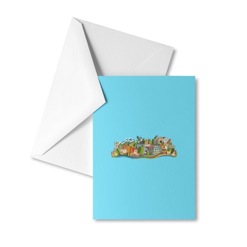 Kentucky Bourbon Celebration Accessories Greeting Card by BullShirtCo