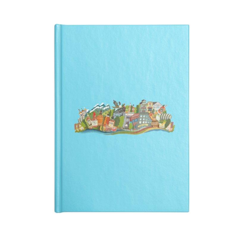 Kentucky Bourbon Celebration Accessories Notebook by BullShirtCo