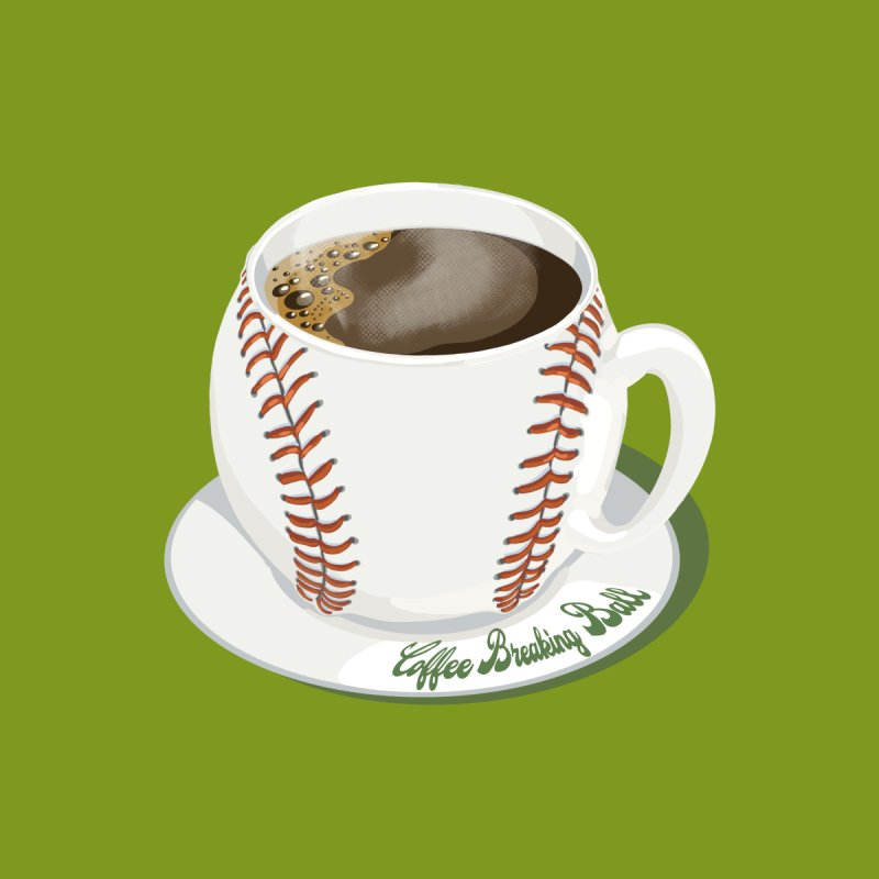 Coffee Breaking Ball! Men's T-Shirt by BullShirtCo