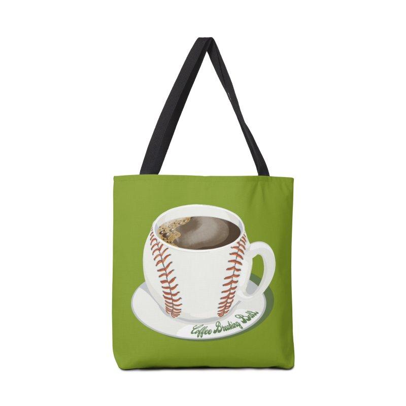 Coffee Breaking Ball! Accessories Bag by BullShirtCo
