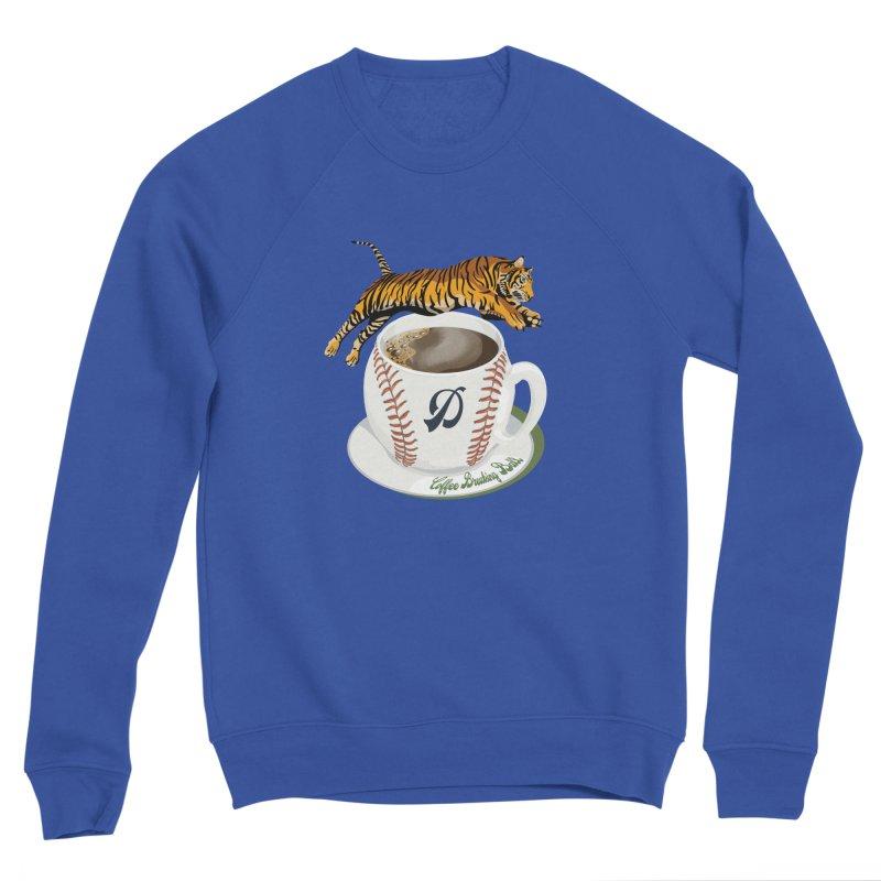 Coffee Breaking Ball! Tiger and D! Men's Sweatshirt by BullShirtCo