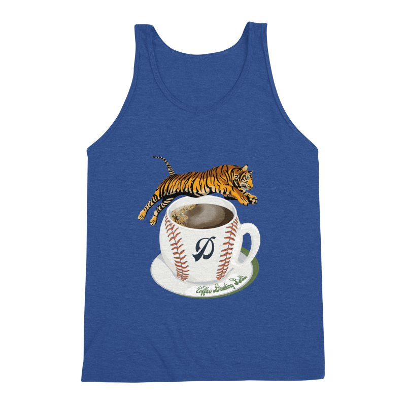 Coffee Breaking Ball! Tiger and D! Men's Tank by BullShirtCo