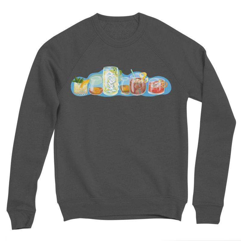 Cool Drinks! Men's Sweatshirt by BullShirtCo