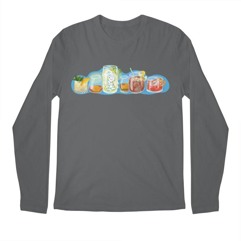 Cool Drinks! Men's Longsleeve T-Shirt by BullShirtCo