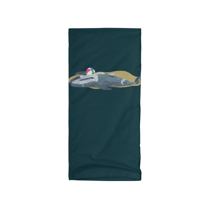Beached Whale! Accessories Neck Gaiter by BullShirtCo