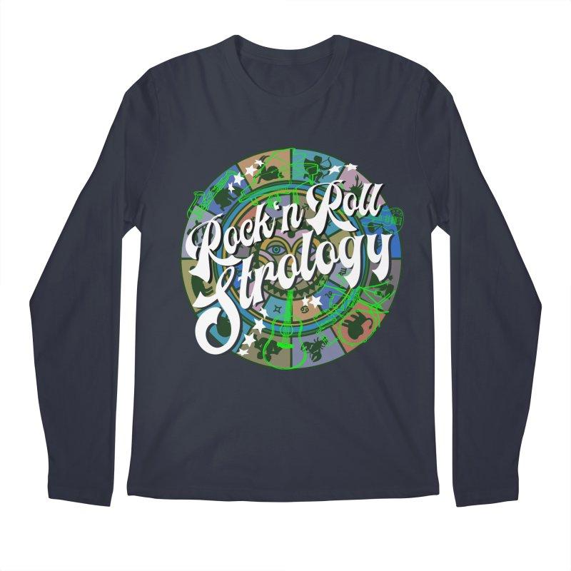 Rock 'n Roll Strology Men's Longsleeve T-Shirt by BullShirtCo