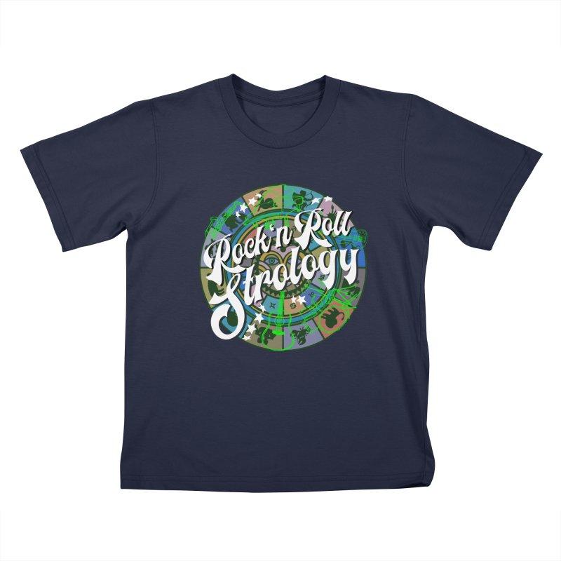 Rock 'n Roll Strology Kids T-Shirt by BullShirtCo