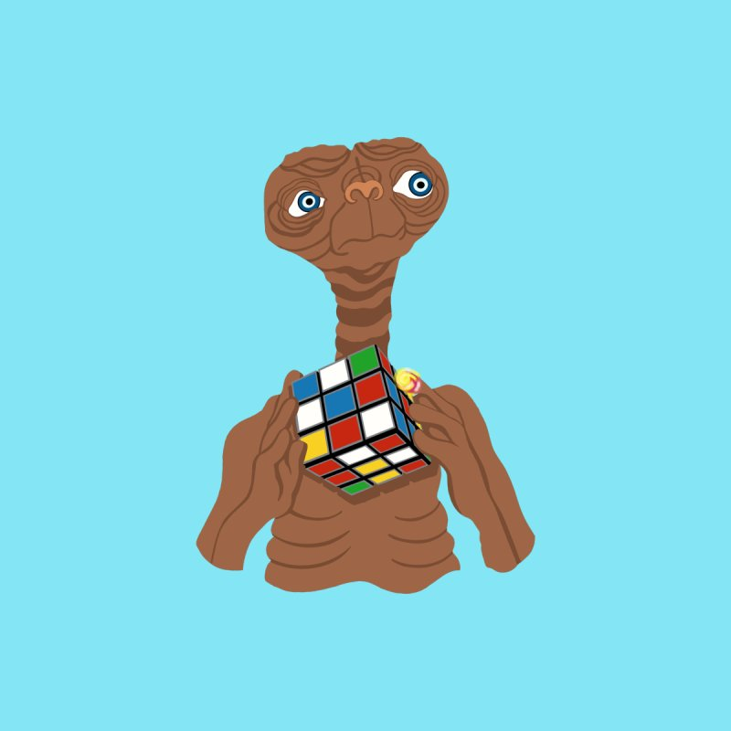 E.T. Needs Help! Home Fine Art Print by BullShirtCo