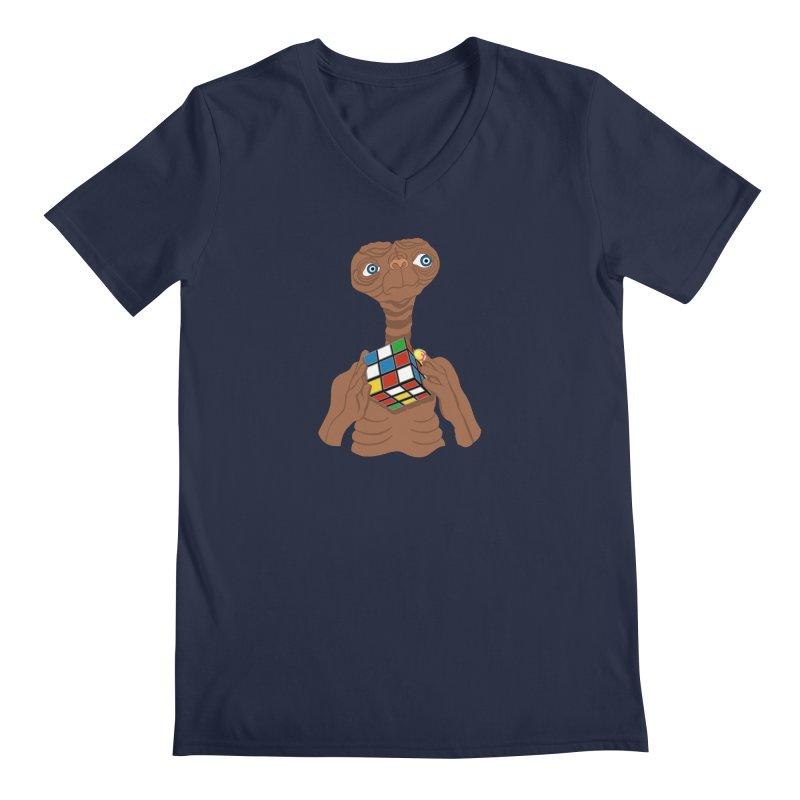 E.T. Needs Help! Men's V-Neck by BullShirtCo