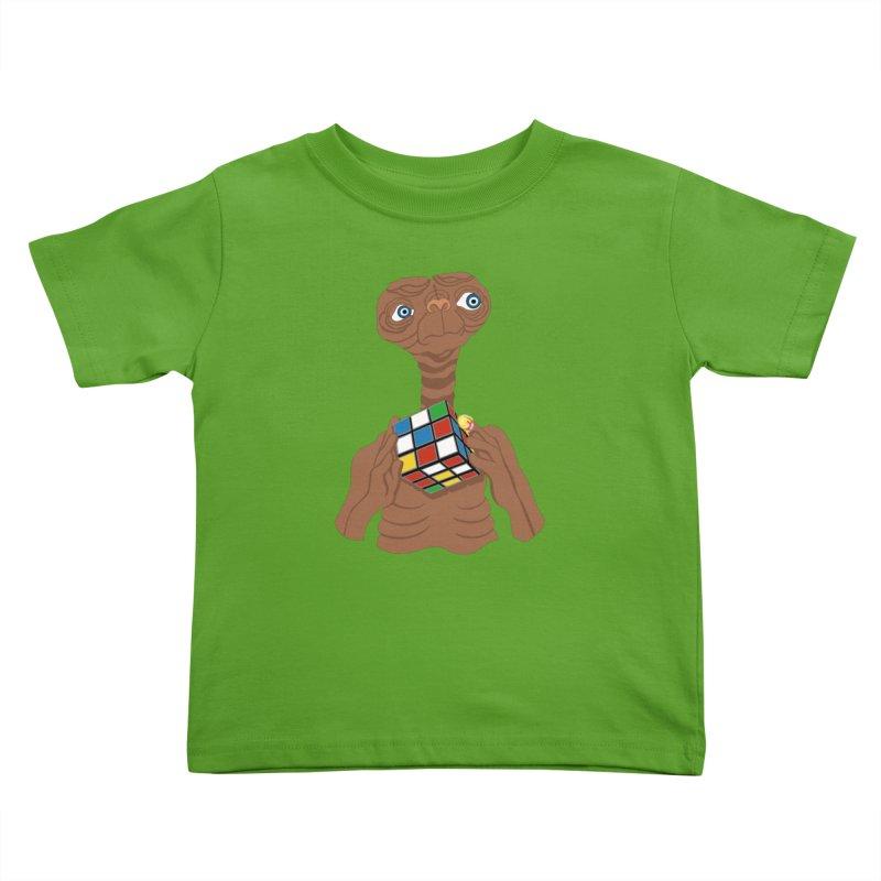 E.T. Needs Help! Kids Toddler T-Shirt by BullShirtCo