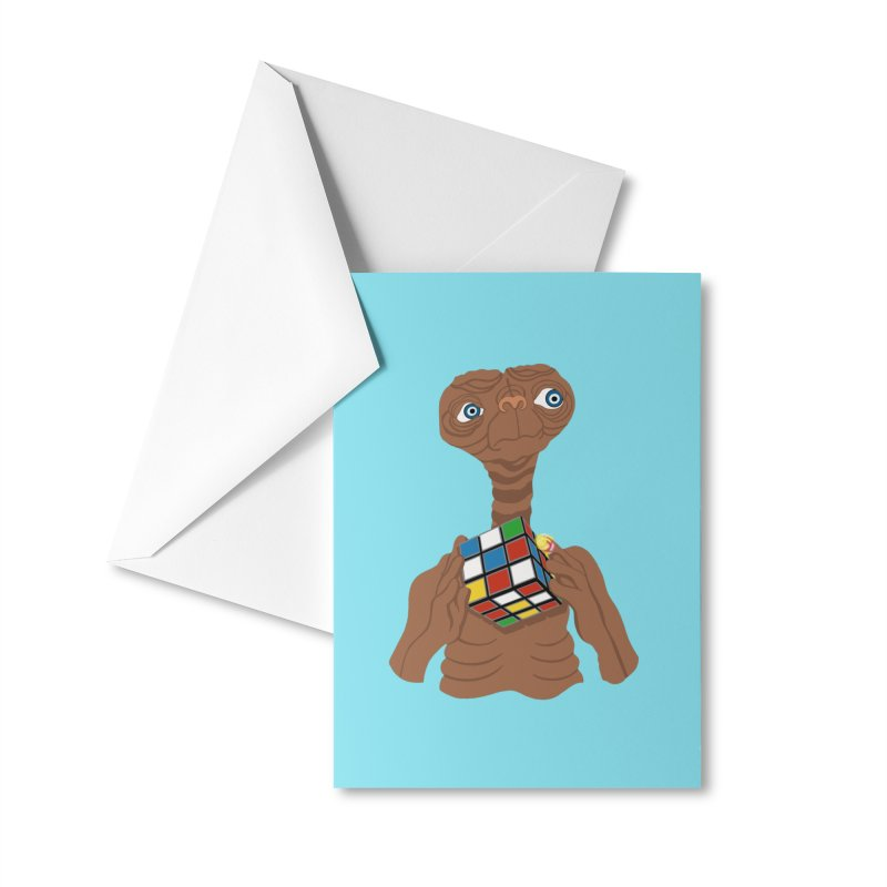 E.T. Needs Help! Accessories Greeting Card by BullShirtCo