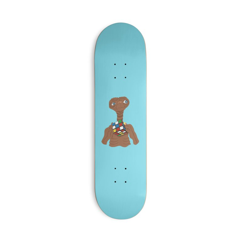 E.T. Needs Help! Accessories Skateboard by BullShirtCo