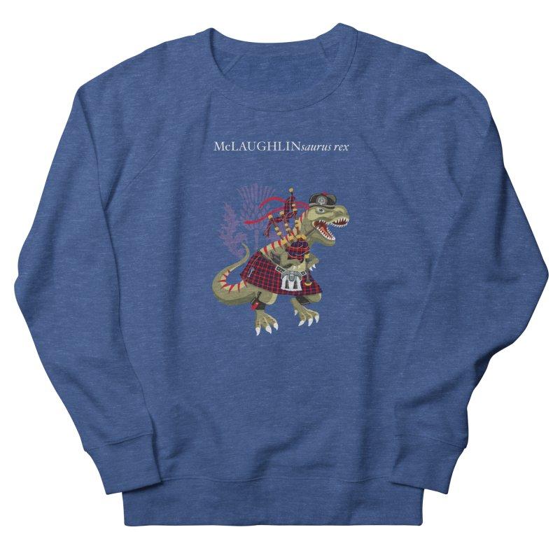 Clanosaurus Rex McLAUGHLINsaurus rex McLaughlin family Tartan Men's Sweatshirt by BullShirtCo