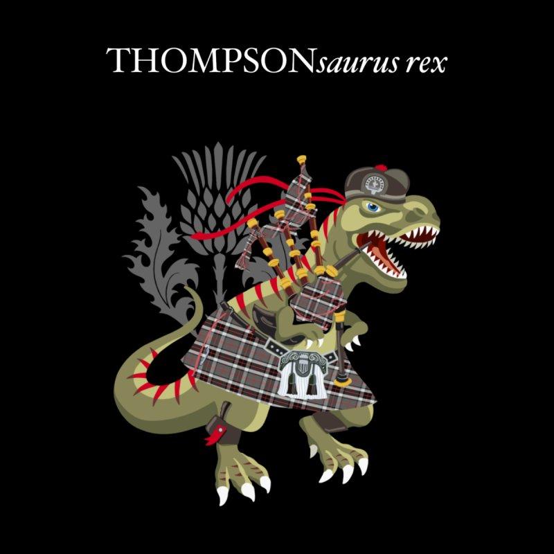 Clanosaurus Rex THOMPSONsaurus rex Thompson Tartan Men's T-Shirt by BullShirtCo